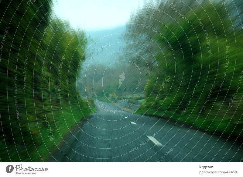 speed grün Straße Geschwindigkeit Republik Irland