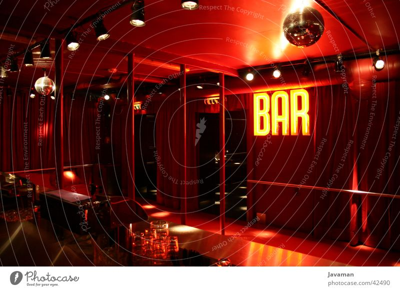 Supperclub - La bar rouge Amsterdam Nacht Club Stil rot Europa Ernährung modern