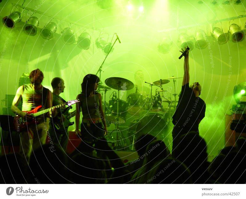 Let's Rock Show Bundesland Tirol Licht Gegenlicht Musik grün Freizeit & Hobby Schnur Timesquare Imst Reaktionen u. Effekte Schatten mehrere Klang