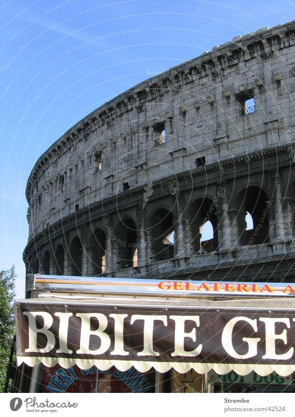Kolosseum Eis Europa Italien Rom