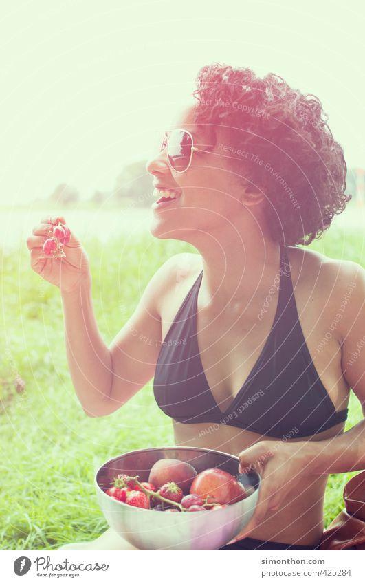 Sommer schön Gesundheit Gesunde Ernährung sportlich Fitness Ferien & Urlaub & Reisen Ausflug Camping Sommerurlaub Sonne Sport Natur Freude Glück Fröhlichkeit