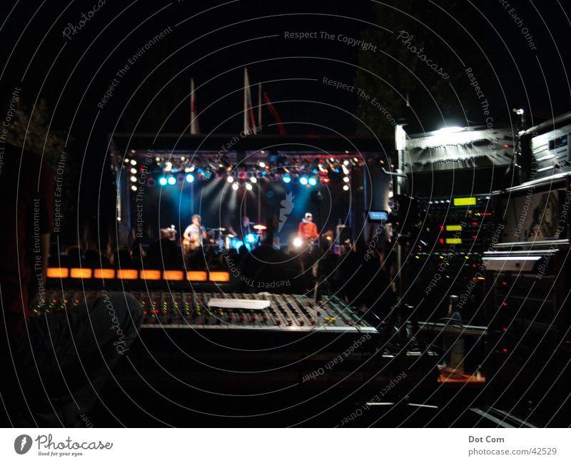 Mix the Band Musik Technik & Technologie Show Konzert Schnur Musikmischpult