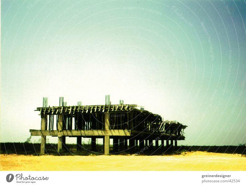 Bauruine Architektur Baustelle Ruine