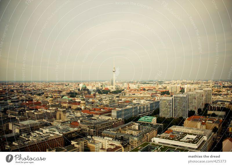 TURM Hauptstadt Stadtzentrum Skyline Haus Kirche Dom Park Rathaus Bauwerk Gebäude Architektur Sehenswürdigkeit Wahrzeichen Denkmal fantastisch Berlin