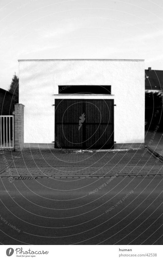 Garage Architektur leer trist
