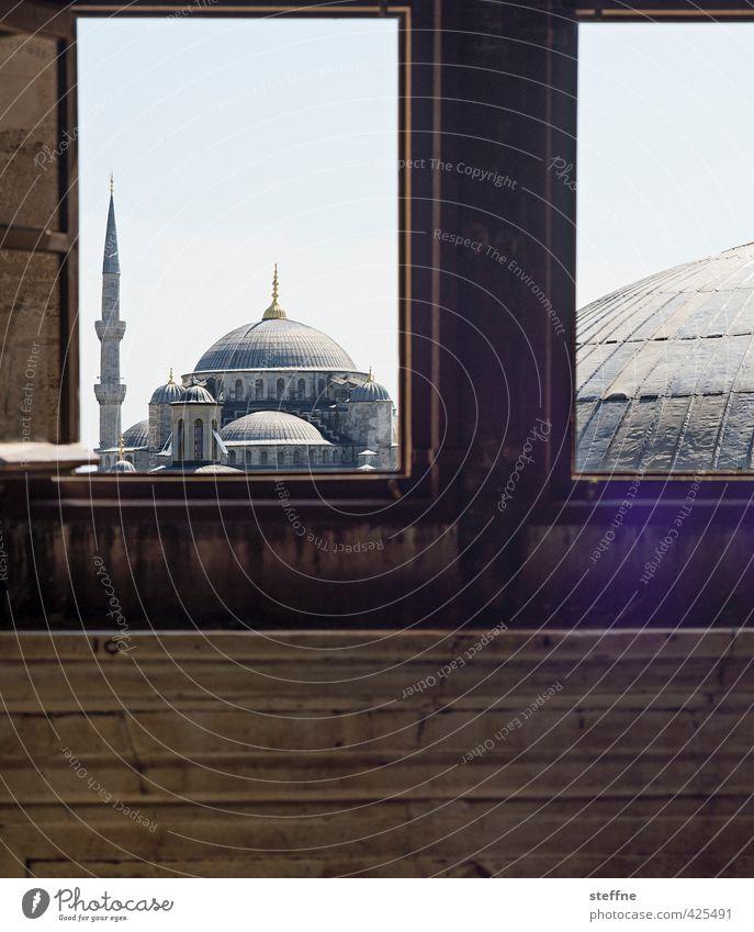 A Room with a View Istanbul Türkei Hauptstadt Altstadt Fenster Sehenswürdigkeit Wahrzeichen ästhetisch außergewöhnlich historisch schön Islam Moschee