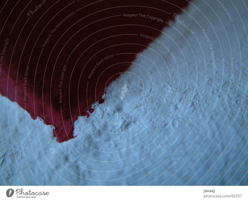 wandfarbe dunkel rot Wand weiß Faser Verlauf Fototechnik Farbe Blut Makroaufnahme eck