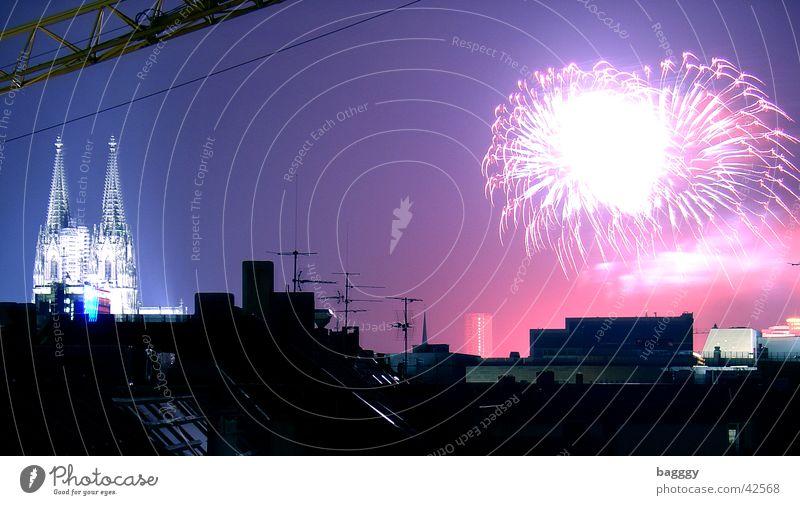 Kölner Lichter Freizeit & Hobby Feuerwerk Dom Kölner Dom