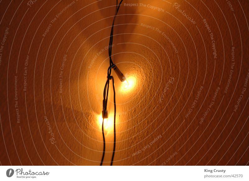 Lichterkette Wärme Häusliches Leben Lichterkette Warmes Licht