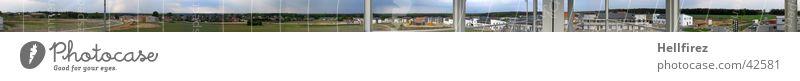 größer gehts nicht? groß Aussicht Baustelle Panorama (Bildformat) Ebene Lausitz