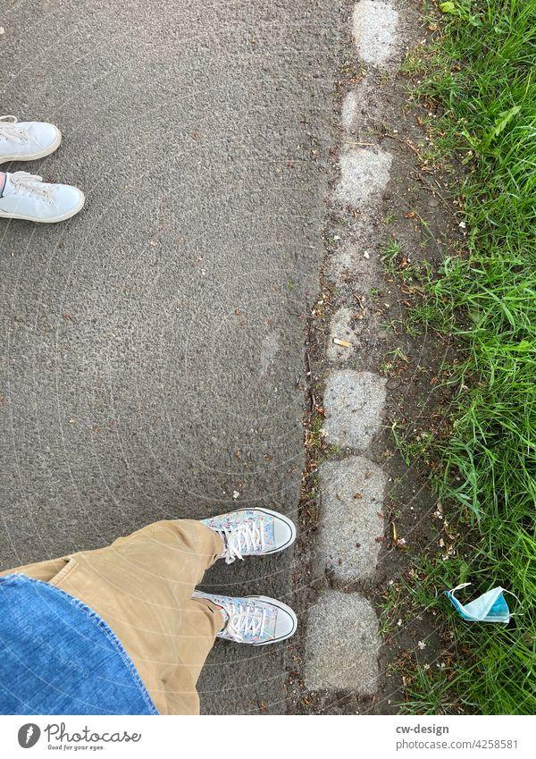 Der neue Trend seit Corona  | corona thoughts Mundnasenschutz Mundnasenbedeckung Mundnaseschutz mundnasebedeckung Müll Müllentsorgung Müllverwertung Umwelt