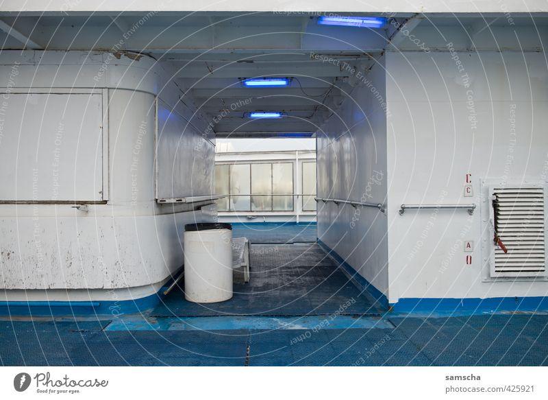 Fähre Ferien & Urlaub & Reisen blau weiß Meer Ferne Reisefotografie Wasserfahrzeug Verkehr Tourismus Ausflug Abenteuer Schifffahrt Personenverkehr unterwegs