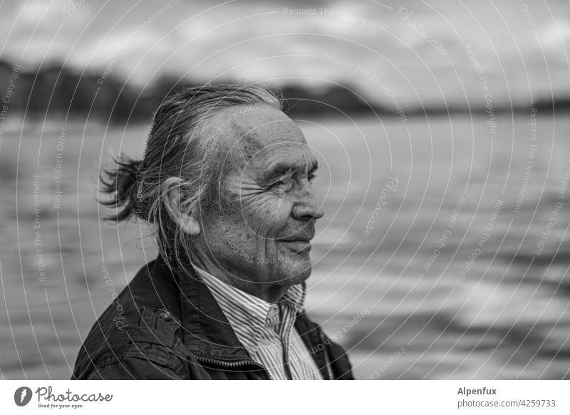 true... freundlich Positivität älterer mann Ruhestand Rentner in den Ruhestand getreten Gesicht Senior Männer alt älterer Erwachsener Zuversicht optimistisch