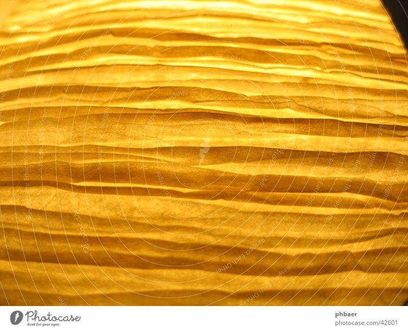 Macht schlank gelb Farbe Linie Papier Streifen Dinge krumm