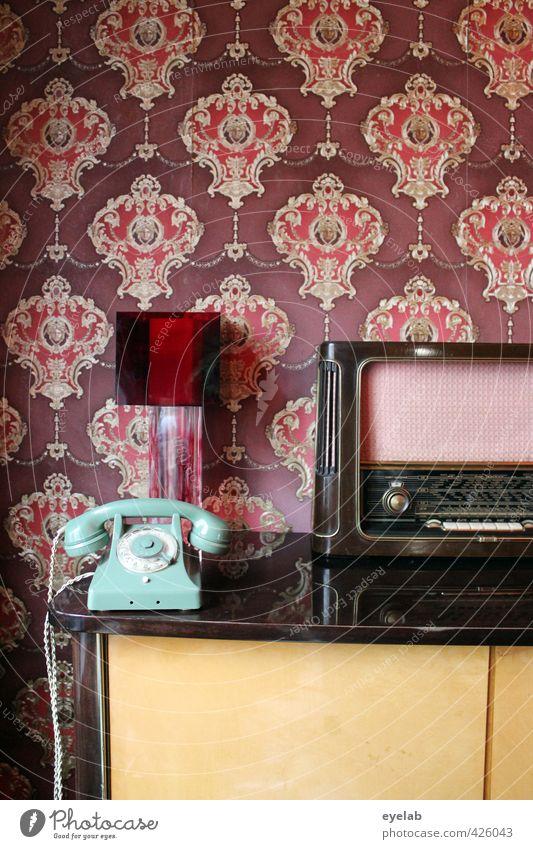 Wohlfühlecke 2.0 alt rot Innenarchitektur Holz Stil Lampe Wohnung elegant Häusliches Leben Design Dekoration & Verzierung verrückt Schriftzeichen