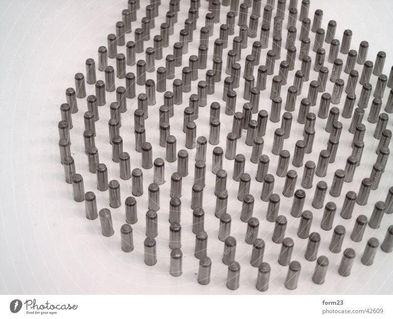 herdplatte weiß Metall Ordnung Kreis rund Fototechnik