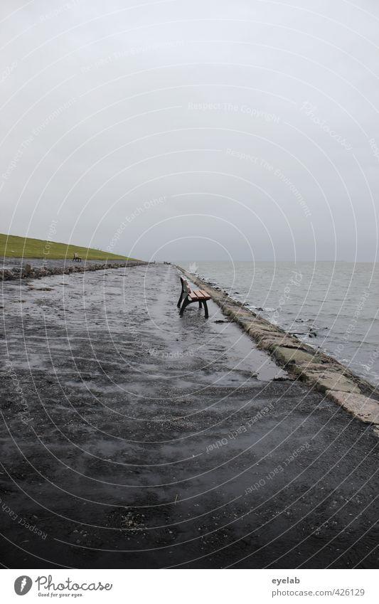Vorfreude auf den Herbst Ferien & Urlaub & Reisen Tourismus Ausflug Umwelt Natur Landschaft Wasser Himmel Wolken Klima Klimawandel Wetter schlechtes Wetter Wind