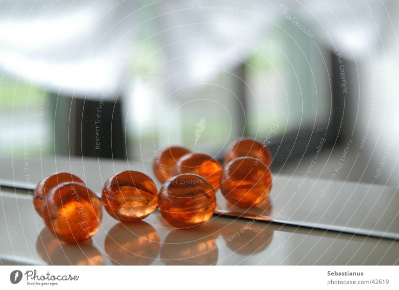 Badekugeln orange Körperpflege Spiegel 8 4 Kugel 2 mal 4