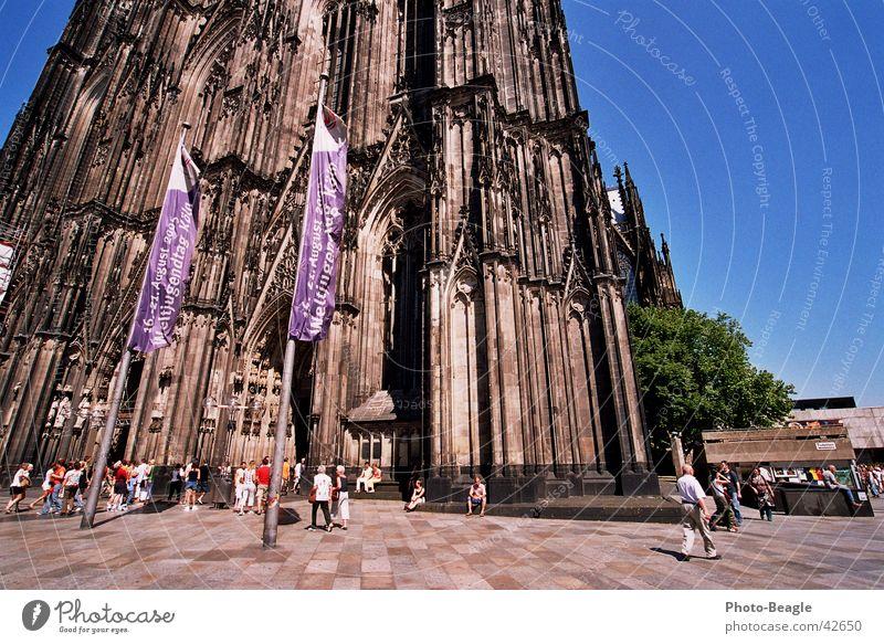 Weltjugendtag voraus! Christentum Katholizismus heilig Köln Religion & Glaube Geistlicher historisch Dom Kathedrale Päpste papstbesuch august 2005 bishop church