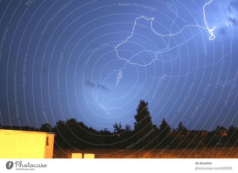 Gewitter Blitze Unwetter Regen Flash
