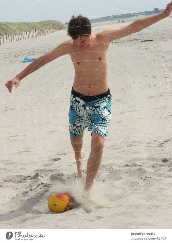beatle Strand Sport Spielen Fuß Sand Fußball Aktion Ball Volleyball Schuss
