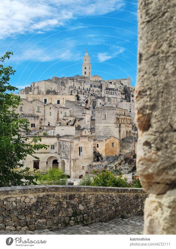Antike Stadt Matera, Höhlenstadt, Basilikata, Italien antik matera Mattera unesco Antiquität Architektur Ansicht Europa Ausflugsziel Erbe reisen Wahrzeichen