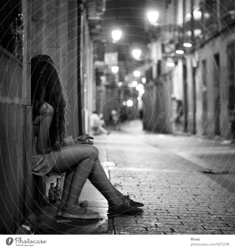 Abendromantik Mensch maskulin feminin Junge Frau Jugendliche Junger Mann Freundschaft Körper 2 18-30 Jahre Erwachsene Sympathie Verliebtheit Romantik Spanien