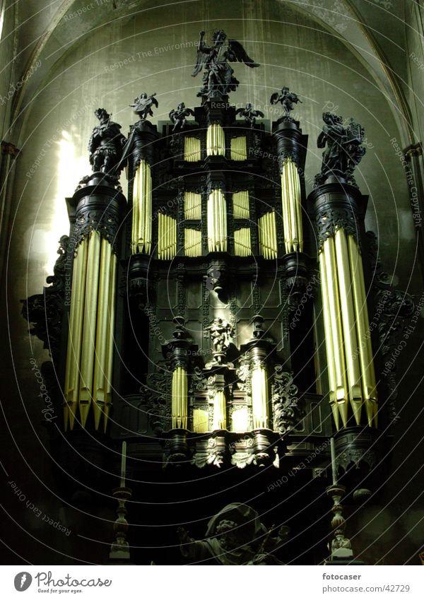 Orgel in Brügge heilig Gotteshäuser Religion & Glaube Musikinstrument