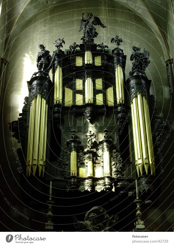Orgel in Brügge Religion & Glaube heilig Musikinstrument Gotteshäuser