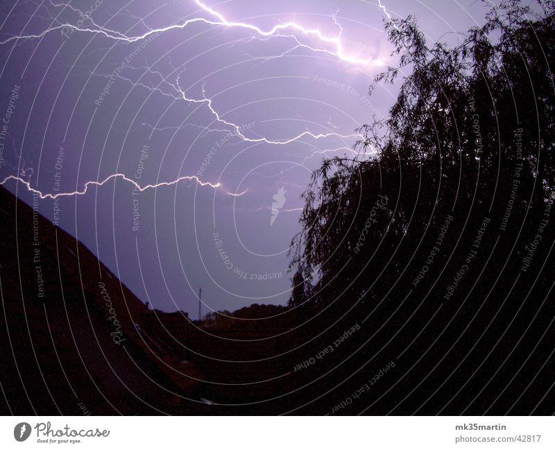Wenn die Götter böse sind... gefährlich bedrohlich Blitze Gewitter Unwetter Donnern