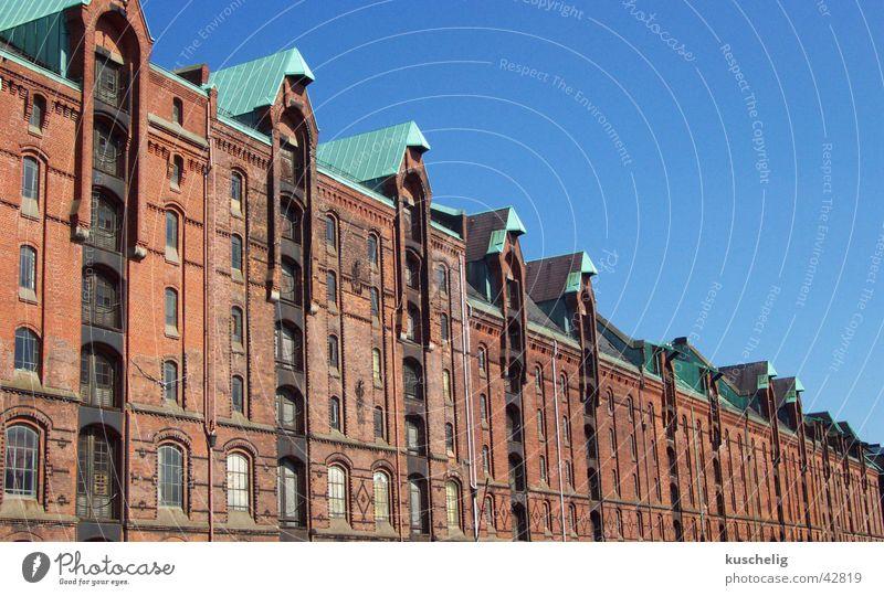 speicherstadt Architektur Hamburg Hamburger Hafen Lager Alte Speicherstadt