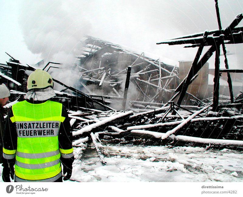 Fire Mensch Brand Feuerwehr
