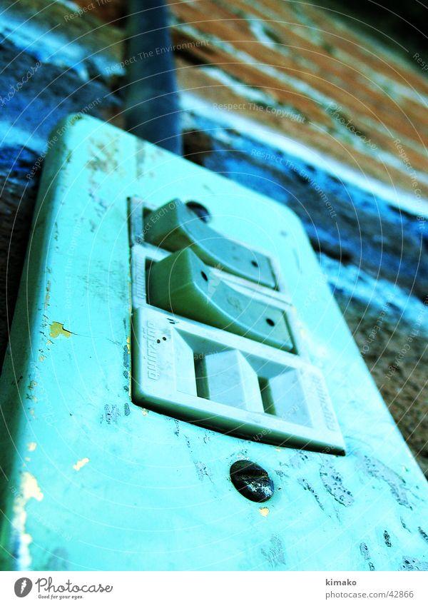 Schalter Licht Cross Processing Makroaufnahme Nahaufnahme kimako Mexiko apagador switch light electric