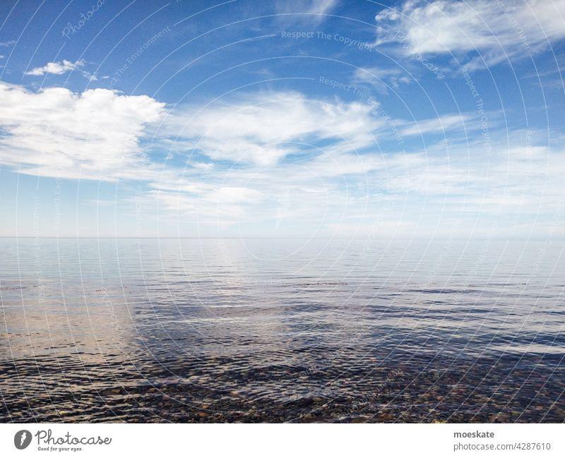 Blue Horizon Mexiko mexico baja california sur meer pazifik horizont blau wolken golf von kalifornien wasser küste unendlichkeit