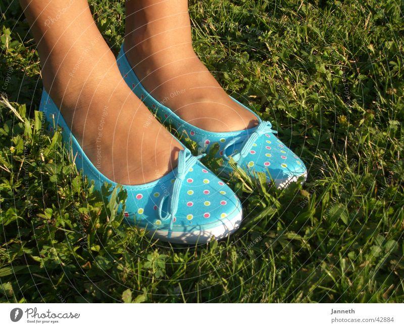 Blue shoes Frau blau Schuhe Sommerschuh