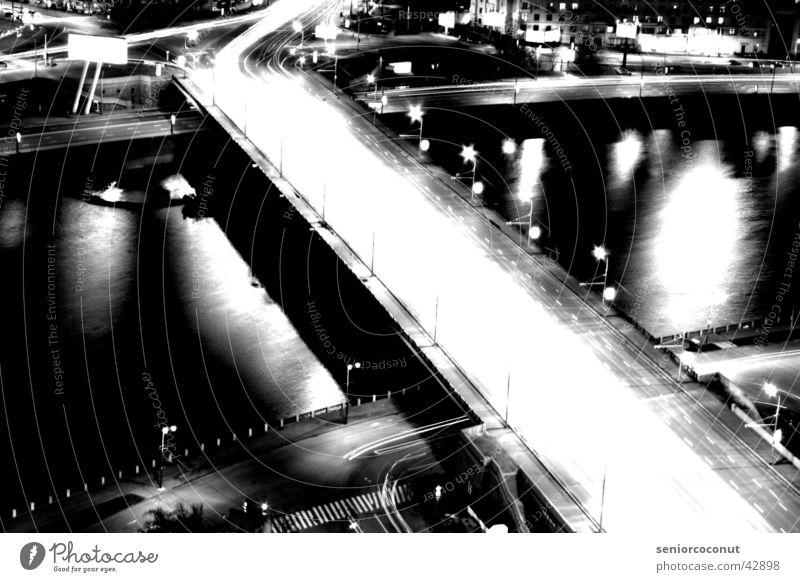 Mocow lights 2 Vol.2 Europa Brücke Fluss Moskau Russland