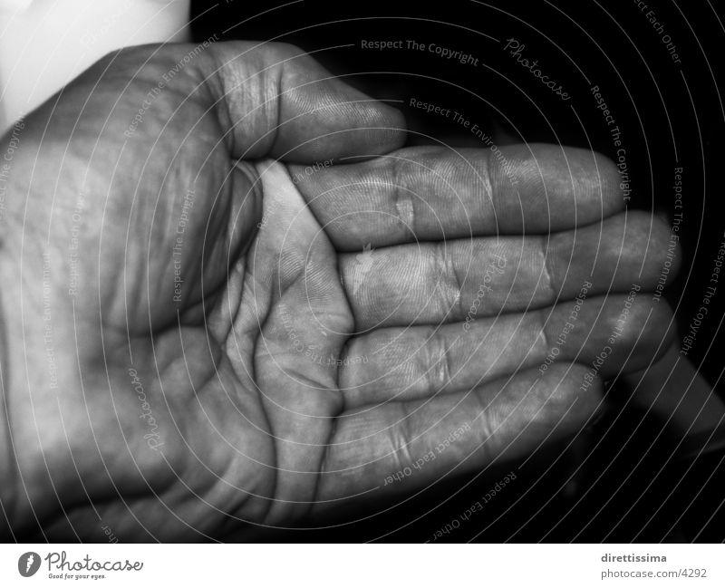 black hand Hand Finger Mann Schwarzweißfoto