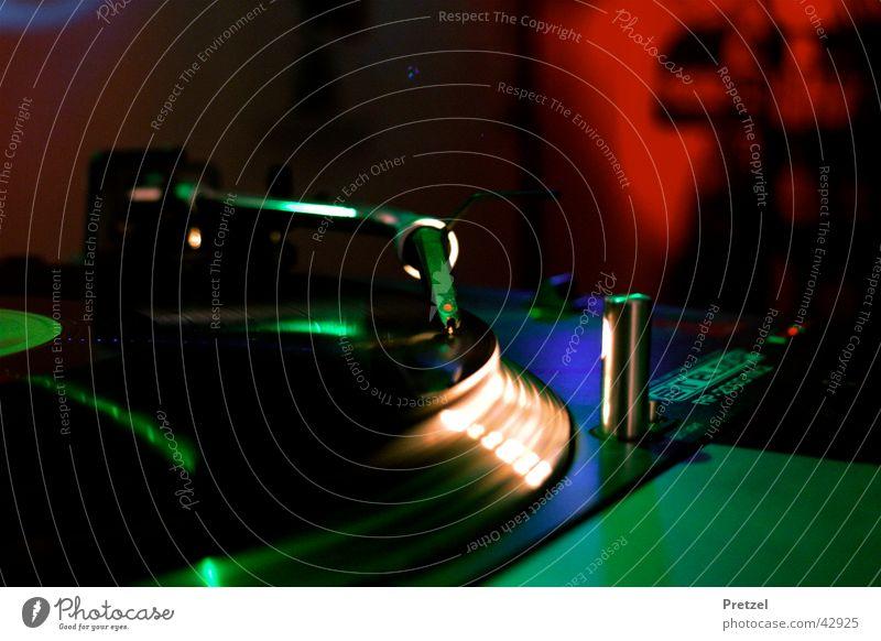 Turntable Party Musik Diskjockey Tonabnehmer Schallplatte Entertainment Plattenspieler Plattenteller Tonträger Tonarm