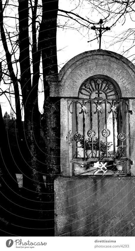 matal dunkel Gotteshäuser Christliches Kreuz Bildstock