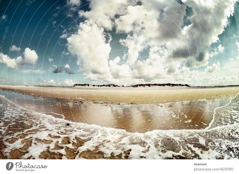 Frischluftzufuhr Gesundheit Ferien & Urlaub & Reisen Ferne Freiheit Insel Umwelt Natur Landschaft Urelemente Sand Luft Wasser Himmel Wolken Klima Wetter