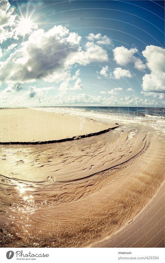Frischluftzufuhr III Gesundheit Ferien & Urlaub & Reisen Ferne Sommerurlaub Umwelt Natur Landschaft Urelemente Sand Luft Wasser Himmel Wolken Sonne Klima