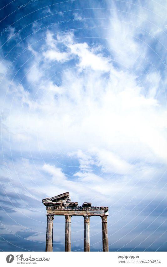 Apollon-Tempel Türkei antik Antike Stätte Antikes Rom Farbfoto Architektur Außenaufnahme Sehenswürdigkeit Ferien & Urlaub & Reisen Tourismus historisch Denkmal