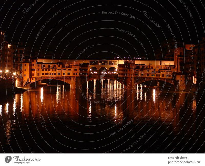 Ponte D'Oro Florenz Ponte Vecchio Kultur Schmuck Italien Europa Brücke gold alt