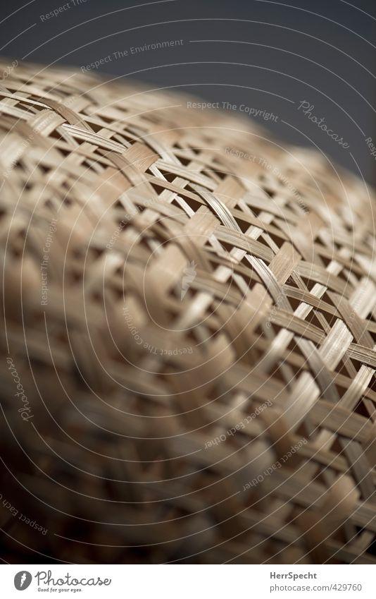 Flechtwerk Holz braun geflochten Lampenschirm Abdeckung Dinge Loch Farbfoto Gedeckte Farben Außenaufnahme Nahaufnahme Detailaufnahme Muster Strukturen & Formen