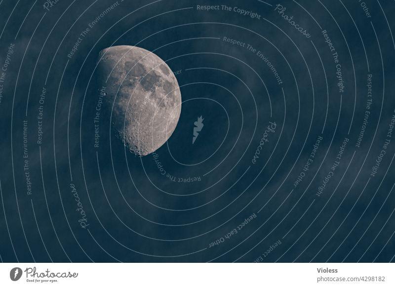 Luna - hinter den Wolken Himmel Krater All Weltall Planet Vollmond Nacht Dunkel Supervollmond leuchten Mond Himmelskörper & Weltall Ferne fantastisch