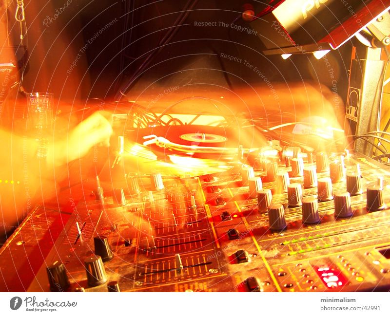 f.unk Club Diskjockey Musikmischpult Entertainment pioneer djm600 langezeitbelichtung Plattenspieler Technik & Technologie Plattenteller