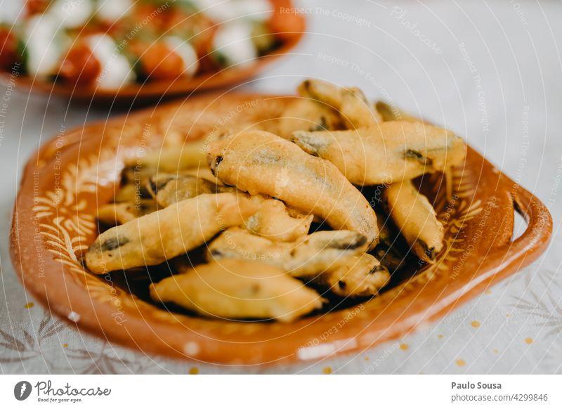 Grüne Bohnen Tempura grüne Bohnen Vegetarische Ernährung Gemüse Veggie Gesunde Ernährung Lebensmittel Vegane Ernährung Farbfoto frisch Essen Bioprodukte