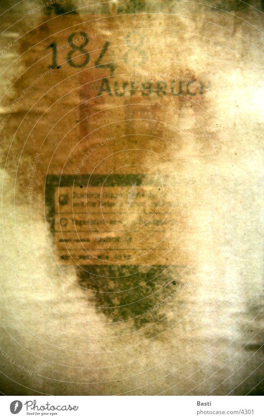 Plakat Papier Werbung Dinge Medien Druckerzeugnisse Poster Collage