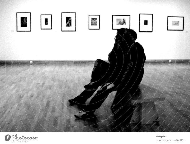 Musée d'art moderne et contemporain träumen Paris Bank Langeweile Ausstellung Straßburg Musée national d'art moderne