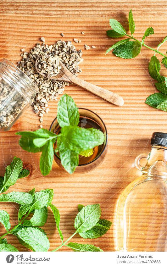 Süßholz-Minz-Tee Getränk Minze pfefferminz Minzeblatt Gesundheit süßholz Süßholzwurzel Agavendicksaft Alternativen Alternativmedizin Gesunde Ernährung gesund